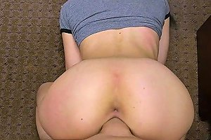 Petite And Round Ass Kiley Jay Gets Fucked By Shawn In His Office